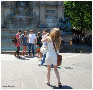 Pause photo Fontaine St Michel