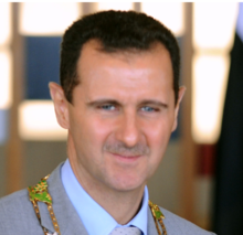 Bashar al-Assad cropped