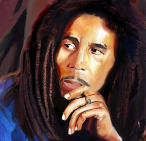 BOB MARLEY by Arsenalfan747