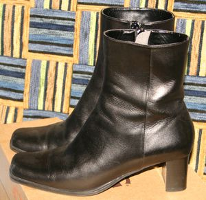 Bottines Hechts Noires 01