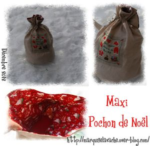 Maxi Pochon de noel