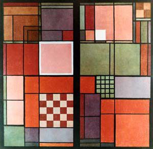 Albers Joseph Red ans White