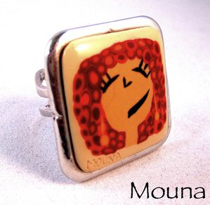 Bague Miss 2 DISPONIBLE: 15 euros.