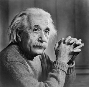 Albert Einstein by Yousuf Karsh, 1948
