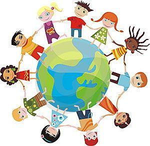 projet d'école autour des  pays du monde