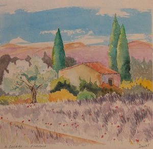 A cottage in Provence