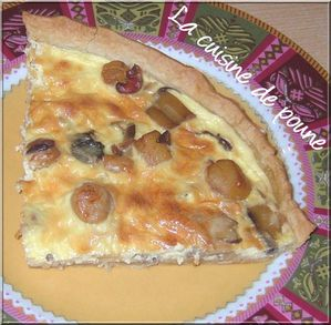Tarte aux noix de St Jacques 7