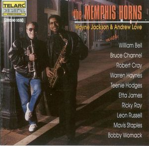 xr The Memphis Horns - 1995 - With Special Guests - Front