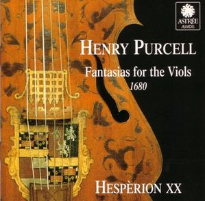 Henry Purcell Fantasias for the viols Hesperion XX Jordi sa