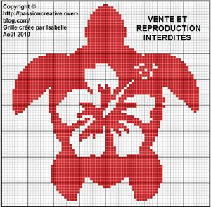 Tortue rouge