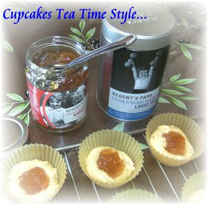 Cupcakes tea time style 1