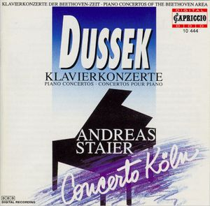 jan ladislav dussek concertos piano staier concerto koln