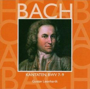 johann sebastian bach cantatas bwv 7 8 9 gustav leonhardt
