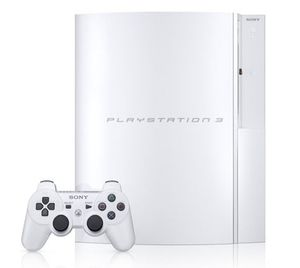 PS3 Fat Ceramic White