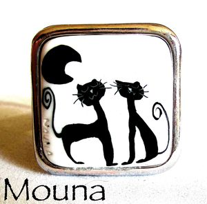 Bague Amour de chats 1 DISPONIBLE: 15 euros.