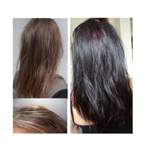 evolution en 8 moisle henn a transform mes cheveux - Coloration Logona Cheveux Blancs