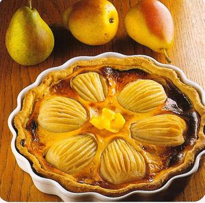 tarte poire fromage blanc