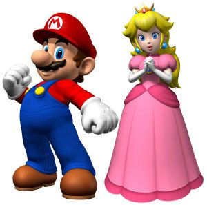 Mario-and-princess-peach