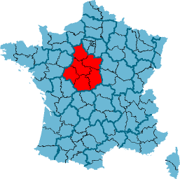 Carte Localisation R%C3%A9gion France Centre