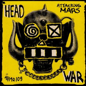 Headwar Attacking Mars 17 10 09 CD