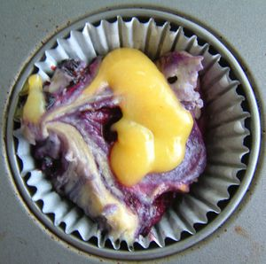 Cupcake Myrtille Cheesecake-3
