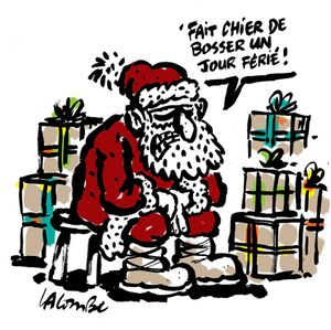 Le blues du Père Noël
