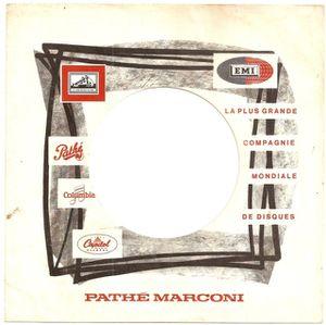Pochette generique Pathe Marconi variante