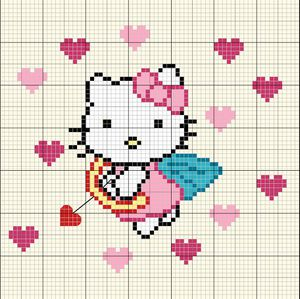 Hello Kitty - Ange de l'amour