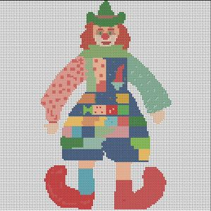 clown crochet tutos gratuits
