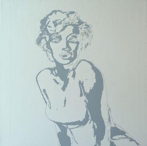 Marylin Monroe - Pop Art WIP 01