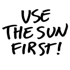use the sun first 2nd