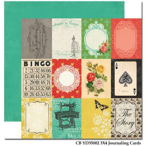 CB YD35002 3X4 Journaling Cards