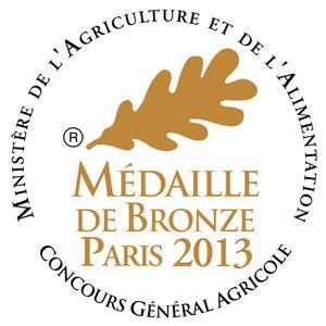 Médaille de bronze foie gras de canard