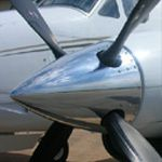 king air prop
