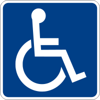 200px-Handicapped Accessible sign svg