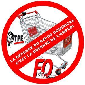 2012-02-20 logo Travail du dimanche FO - TPE