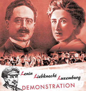 Des dizaines de milliers de manifestants à Berlin pour rendre hommage à Rosa Luxembourg et Karl Liebknecht, assassinés il y a 95 ans
