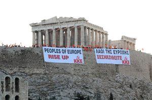 Appel du PC Grec pour les élections du 25 janvier : le peuple a besoin d'un KKE fort pour mener la lutte contre ce système !
