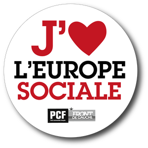 autocol j aime l europe rouge web