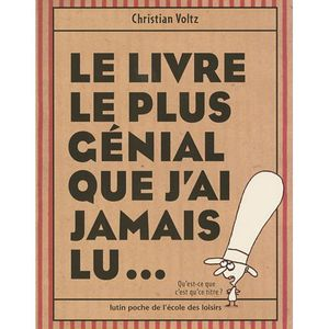 le livre le plus gnial