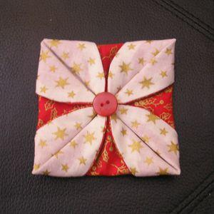 Tuto decoration de noel en tissus