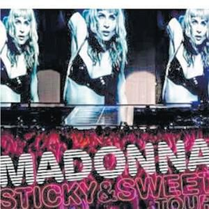 Madonna's ''Sticky & Sweet Tour'' CD-DVD