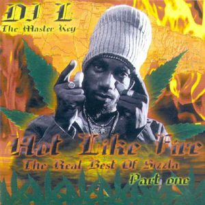 Sizzla Hot Like Fire - The Real Best of Sizzla-front-large