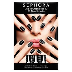 ongles graphiques 3d sephora 9.9
