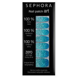 nail patch art blue lagoon sephora 9e - Copie
