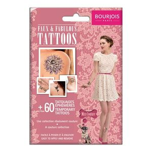 faux & fabulous tatoos miss couture