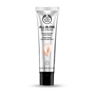 bb cream all in one the body shop