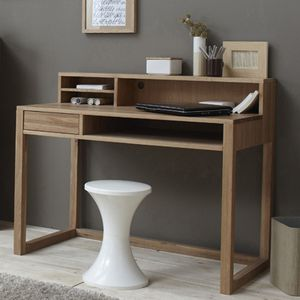 bureau console en chene. Black Bedroom Furniture Sets. Home Design Ideas