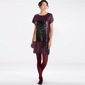 robe sequins tricolore la redoute 39.90