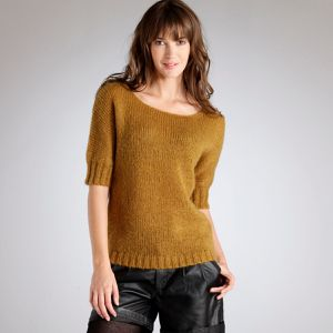 pull mohair soft grey la redoute 39.90